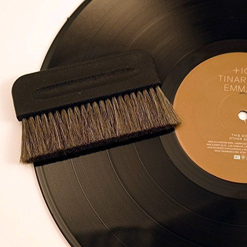 Thunderon & Goat Conductive Anti Static  Record Brush LP