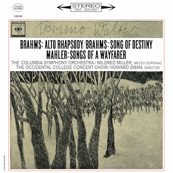 Brahms - Alto-Rhapsody / Mahler -  Songs Of A Wayfarer : Bruno Walter : Columbia Symp Orch- 180g LP