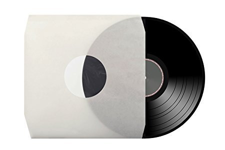 "12"" LP HDPE Cream  Inner Sleeve Polylined Anti-Static 110Gsm ( Cut Corner )"