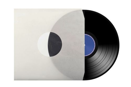 "12"" LP Cream  Paper Inner Sleeve Un-Lined ( Cut Corner )"
