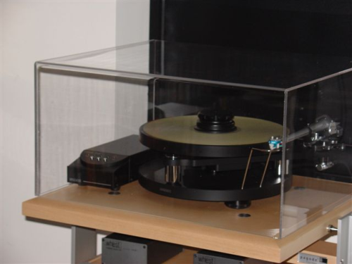 SME Model 15  Turntable  + PSU Acrylic Dust Cover ( 550 x 450 x 275 mm )