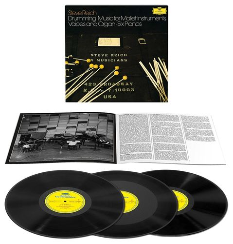 Steve Reich - Drumming Parts I-IV - 180g 3LP Box Set