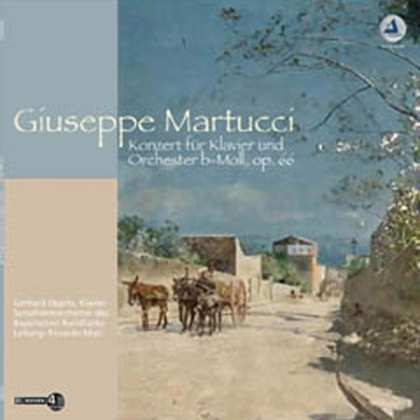 Martucci Giuseppe - Concerto for Piano and Orchestra  :  Gerhard Oppitz  : Riccardo Muti - 180g LP
