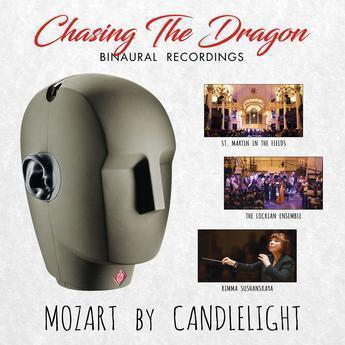 Mozart by Candlelight - A Live Binaural recording at St Martin's in the Fields - CD