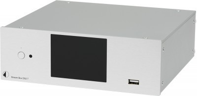Pro-Ject Stream Box DS2 T - 24bit/192kHz Hires Audio Streamer & Internet Radio Transport