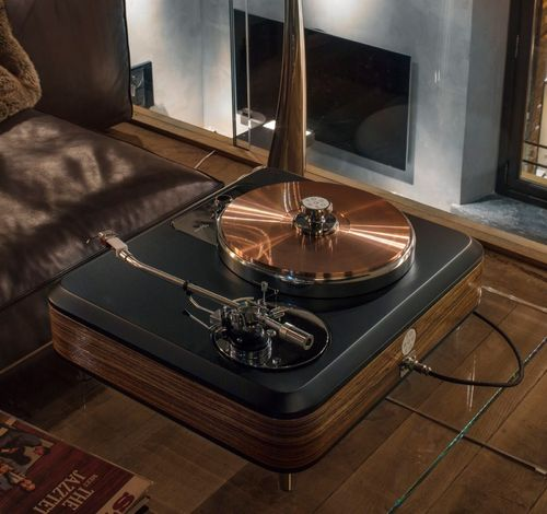 Torqueo Zebrano Exclusive Idler Turntable