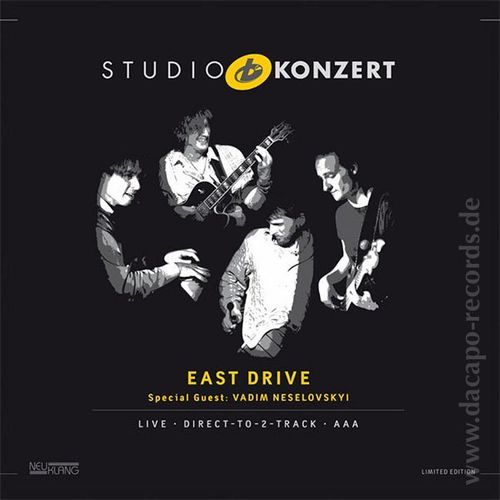 East Drive - Studio Concert - 180g LP