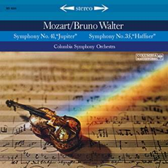 Mozart - Symphonies Nos. 35 & 41 : Bruno Walter : The Columbia Symphony Orchestra - 180g LP