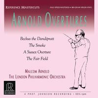 Malcolm Arnold - Arnold Overtures : London Philharmonic Orchestra - 180g LP