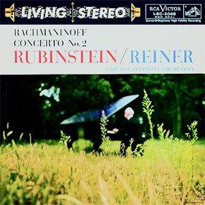 Rachmaninoff - Concerto No. 2 ~ Rubinstein • Reiner, Chicago Symphony - 200g LP