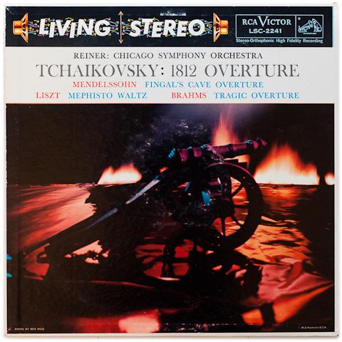 Tchaikovsky - 1812 Overture : Fritz Reiner : Chicago Symphony Orchestra - 200g LP