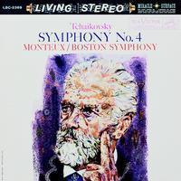 Tchaikovsky - Symphony No. 4 : Pierre Monteux : Boston Symphony Orchestra - 200g LP