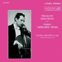 Shostakovich:Cello Sonata/Schubert: Arpeggione Sonata : Daniel Shafran :Lydia Pecherskaya - 200g LP