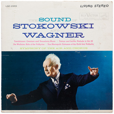 The Sound Of Stokowski And Wagner - Symphony Of The Air Chorus - 200g LP