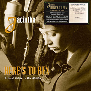 Jacintha - Here's to Ben: ( One-Step Numbered Limited Edition ) - 45rpm 180g 2LP