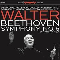 Beethoven - Symphonies Nos. 4 & 5 : Bruno Walter : Columbia Symphony Orchestra - 180g LP