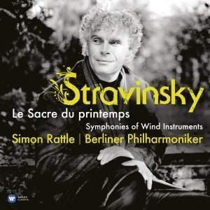 Stravinsky -  The Rite of the Spring -  Berliner Philharmoniker, Sir Simon Rattle - 180g LP