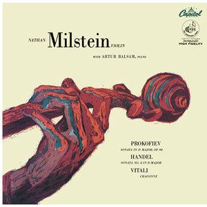 Nathan Milstein - Prokofiev, Handel & Vitali Violin Sonatas & Chaconne - 180g LP