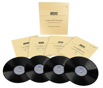 Enrico Mainardi - Bach Suites For Cello Solo - BWV 1007-1012 - 180g 4LP Box Set