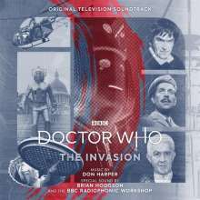 Don Harper - Doctor Who: The Invasion (Original TV Soundtrack) - LP