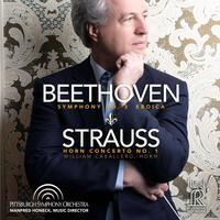 Beethoven: Symphony No. 3 Eroica  / Strauss: Horn Concerto No. 1 : Manfred Honeck - SACD
