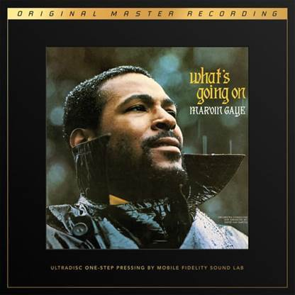 Marvin Gaye - What`s Going On : UltraDisc One Step SuperVinyl - 45rpm 180g 2LP Box Set