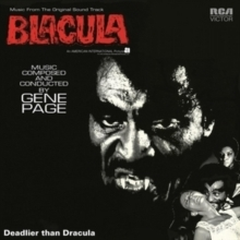 Gene Page - Blacula : OST - 180g LP