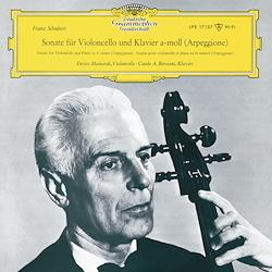 Schubert - Sonata in A minor - Arpeggione Sonata : Enrico Mainardi : Guido A. Borciani - 180g LP