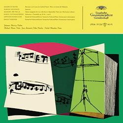 Johanna Martzy - Works by Ravel / Milhaud / De Falla / Szymanowski / Krenek - 180g LP