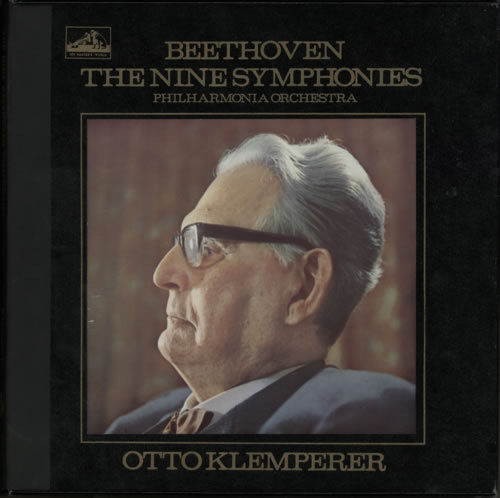 The Nine Beethoven Symphonies Klemperer Philharmonia Orchestra - 180g 13LP Box Set