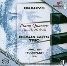 Brahms - Piano Quartets - Beaux Arts Trio/Trampler - 2SACD