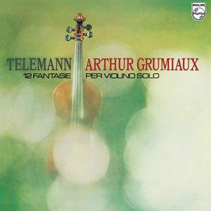 Arthur Grumiaux - Telemann 12 Fantasias For Violin Solo - 180g LP