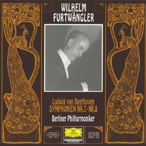 Beethoven - Symphony No  7 and No  8 : Wilhelm Furtwängler - SHM-SACD