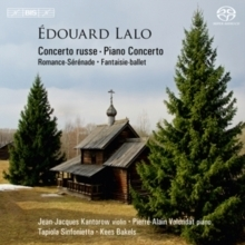 Lalo - Concerto Russe & Piano Concerto : Tapiola Sinfonietta  :  Kees Bakels - SACD