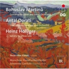Yeon-Hee Kwak plays Martinu, Dorati & Holliger - SACD