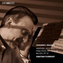 Brahms - Works for Solo Piano Volume 3 : Jonathan Plowright - SACD