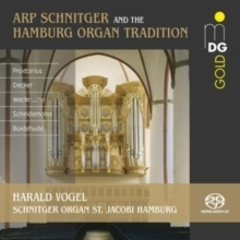 Arp Schnitger and the Hamburg Organ Tradition -  Harald Vogel - SACD