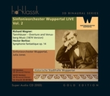 Works by Richard Wagner and Hector Berlioz -     Sinfonieorchester Wuppertal LIVE Vol. 2  - SACD