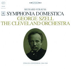 R. Strauss - Symphonia Domestica : George Szell : the Cleveland Orchestra  - 180g LP