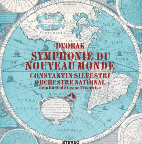 "Dvorak - Symphony No.9, Op.95 ""From the New World"" : Constantin Silvestri - 180g LP"