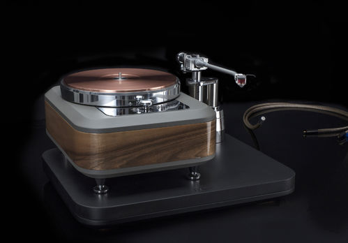 Torqueo T-34 Exclusive Noce C. with Cu-2900 & Pilastro MK-4 Chrome - Idler Turntable