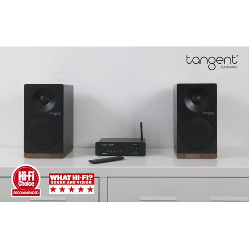 Vinyl & Streaming Stereo System  Project Primary E Phono Turntable +Tangent Ampster + X4 Speakers
