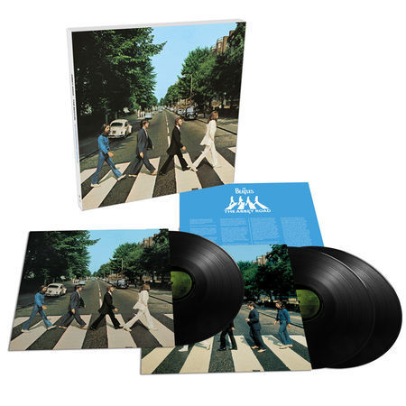 The Beatles - Abbey Road (50th Anniversary) Deluxe Box Set - 180g 3LP