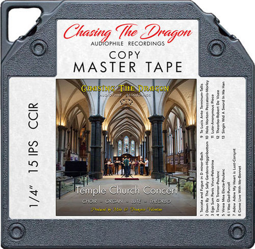 "Chasing The Dragon - Temple Church Concert - 1/4"" 15IPS R2R Tape"