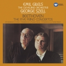 Beethoven - The Five Piano Concertos : Emil Gilels :The Cleveland Orchestra:  George Szell - 5LP Box