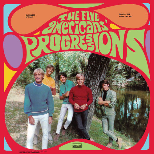 The Five Americans - Progressions - LP