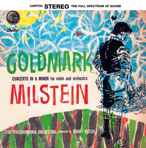 Goldmark -  Concerto In A Minor :   Nathan  Milstein :   Harry Blech :  Philharmonia Orch - 180g LP