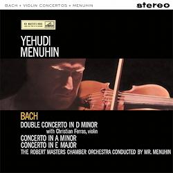 Bach - Violin Concerto : Yehudi Menuhi : Robert Masters Chamber Orch Christian Ferras - 180g LP