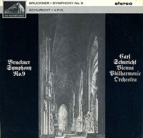 Bruckner - Symphony No. 9 : Carl Schuricht : Vienna Philharmonic - 180g LP