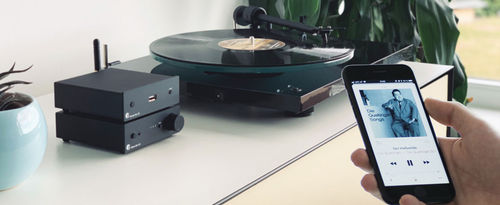 Vinyl & Steaming Stereo System  ProJect T1 Phono SB + S2 + Hedd 05